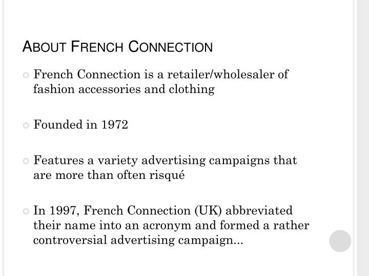 About french connection