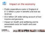 impact on the economy