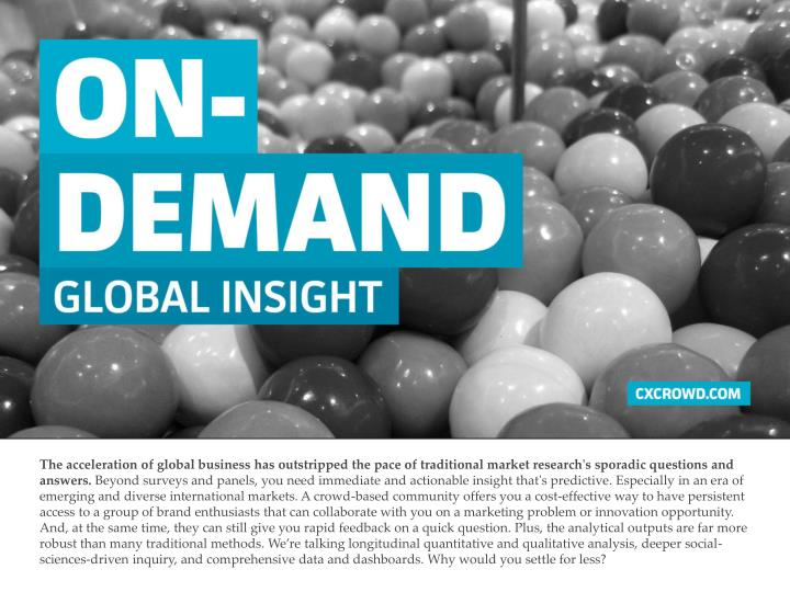 The acceleration of global business has outstripped the pace of traditional market research's sporad...