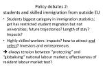 policy debates 2 students and skilled immigration from o utside eu