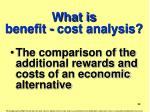 what is benefit cost analysis