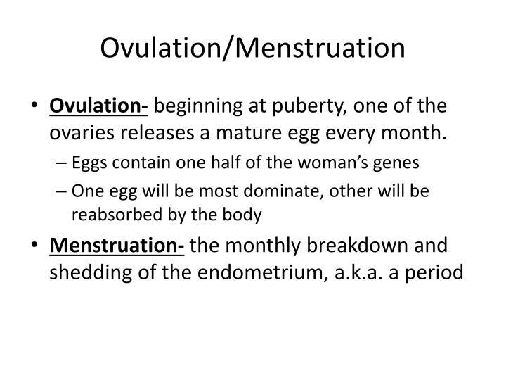 Ovulation/Menstruation