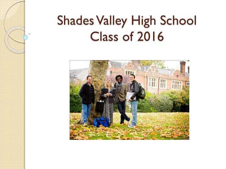 shades valley high school class of 2016 n.