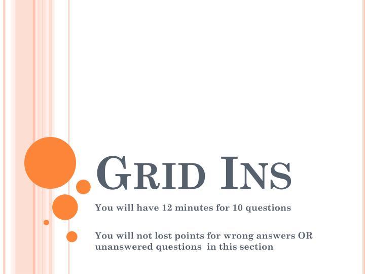Grid Ins