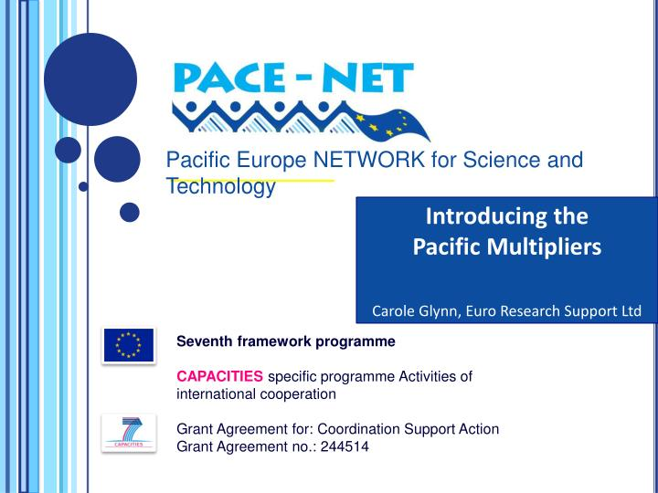 Pacific Europe NETWORK for Science and Technology
