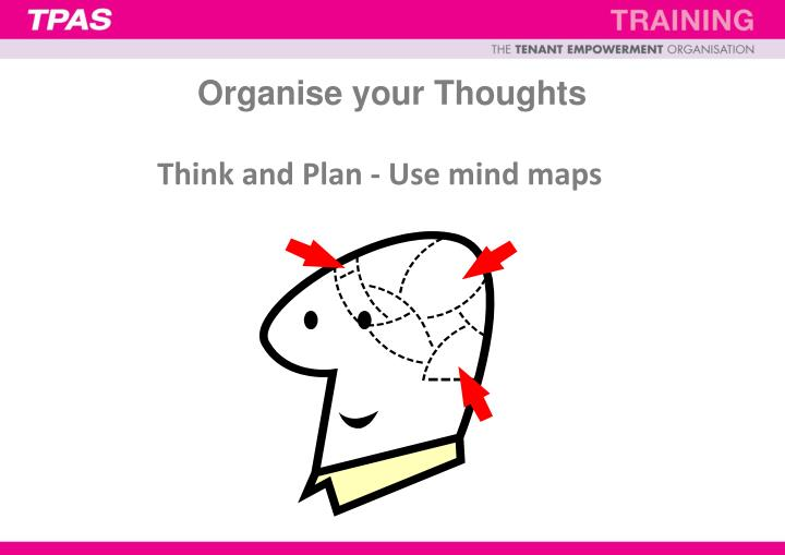 Organise your Thoughts