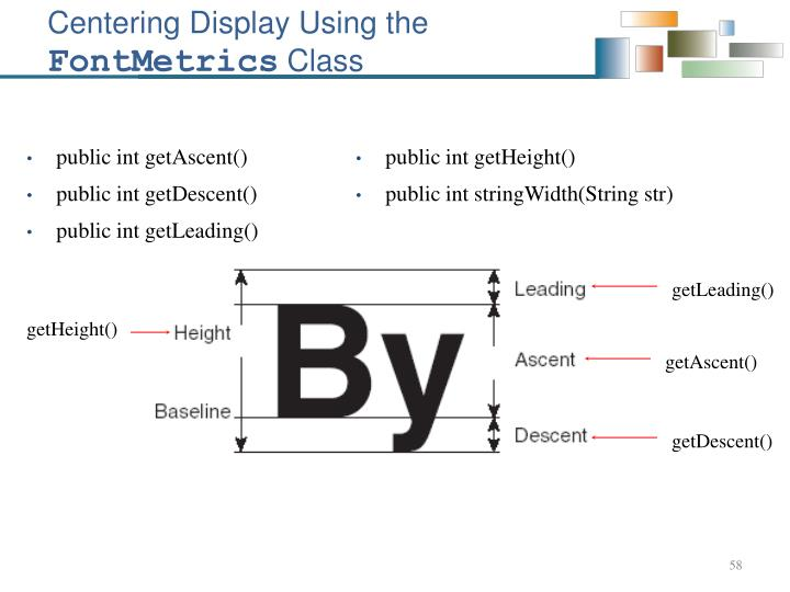 Centering Display Using the