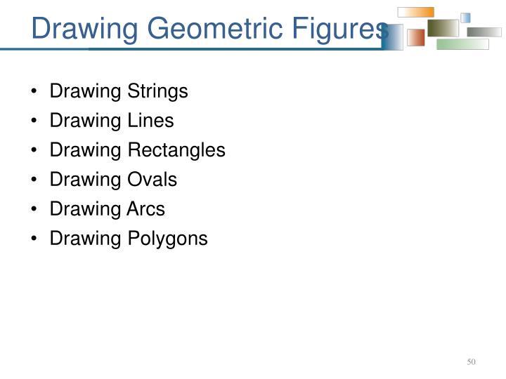 Drawing Geometric Figures