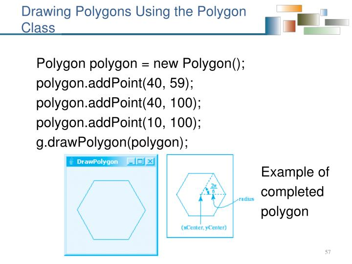 Drawing Polygons Using the Polygon