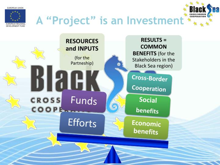 A project is an investment