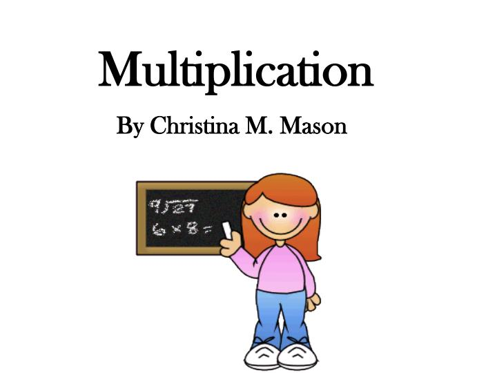 multiplication n.