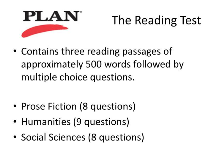 The Reading Test