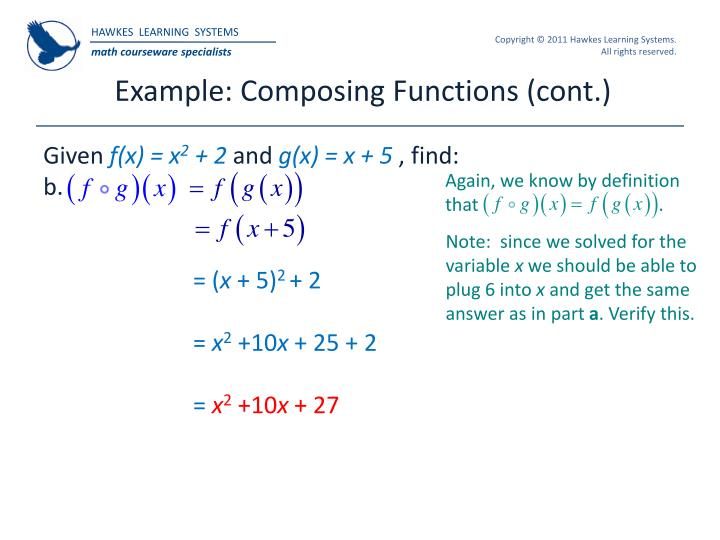 Example: Composing Functions (cont.)