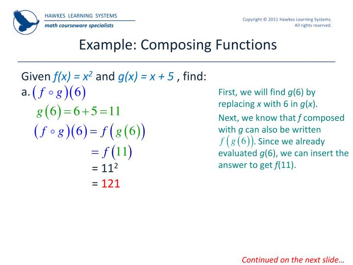 Example: Composing Functions