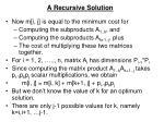 a recursive solution2