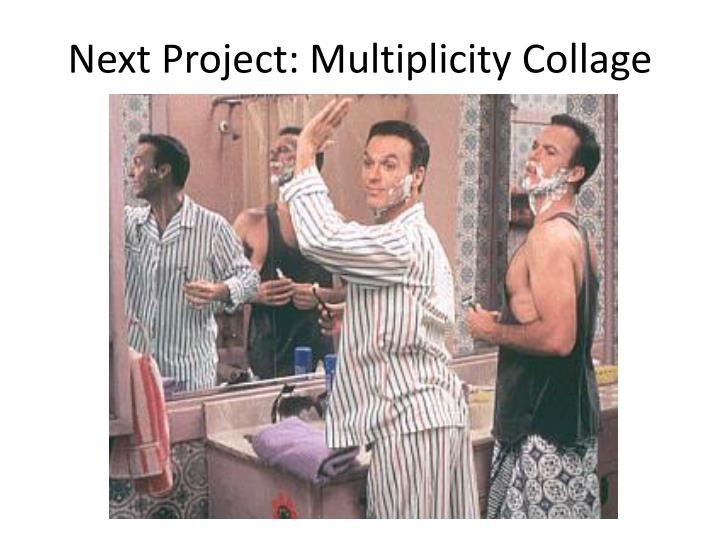 next project multiplicity collage