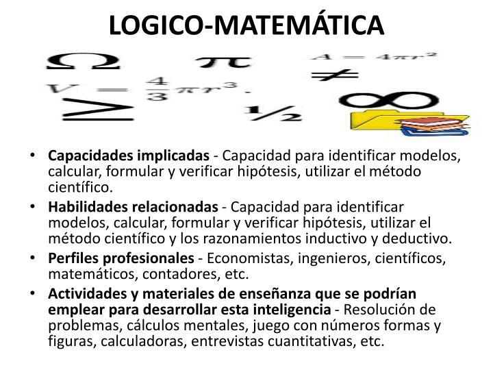 LOGICO-MATEMÁTICA