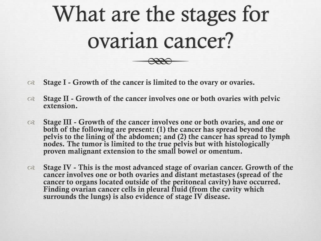 Ppt Ovarian Cancer Powerpoint Presentation Free Download Id 2666643