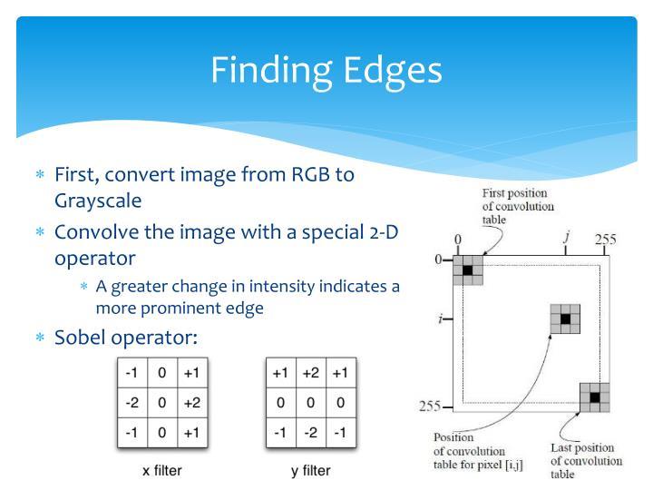 Finding Edges