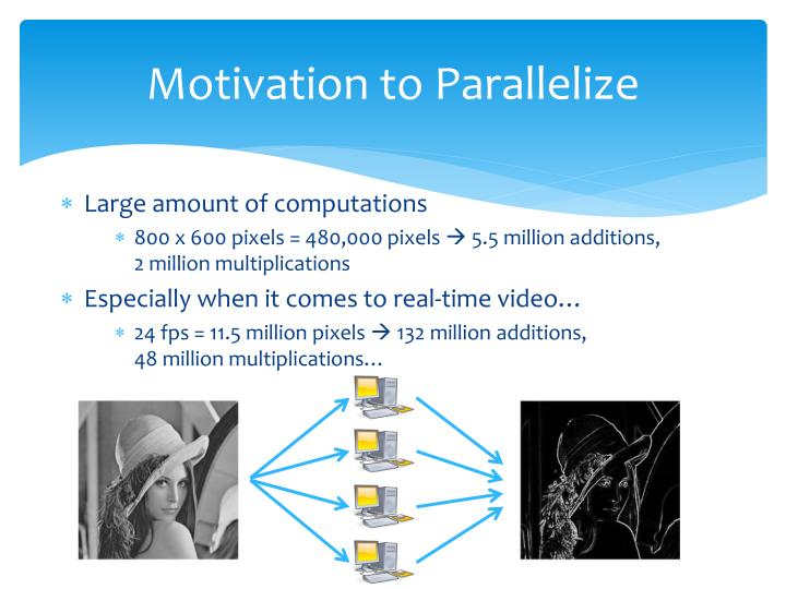Motivation to Parallelize