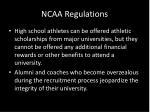 ncaa regulations1