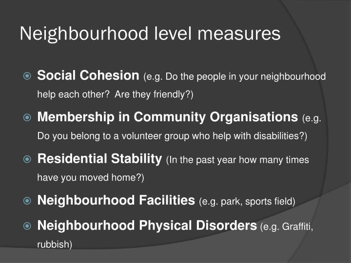 Neighbourhood