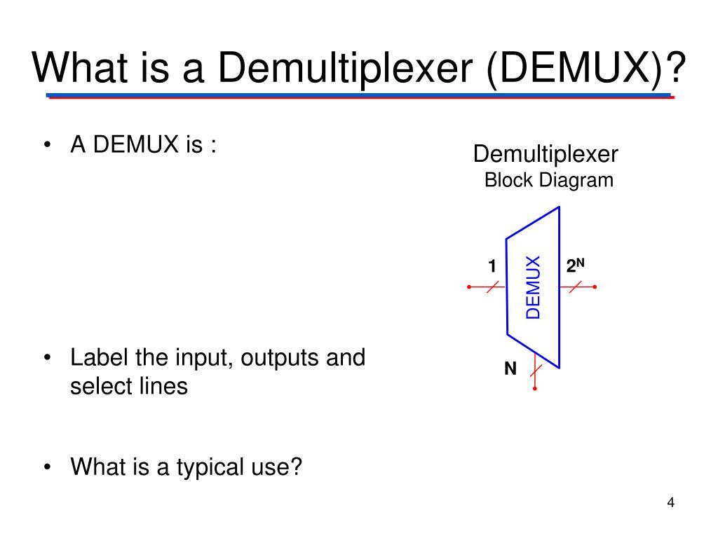 Block Diagram Of Multiplexer