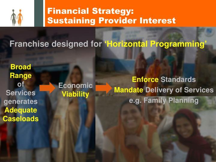 Financial Strategy:
