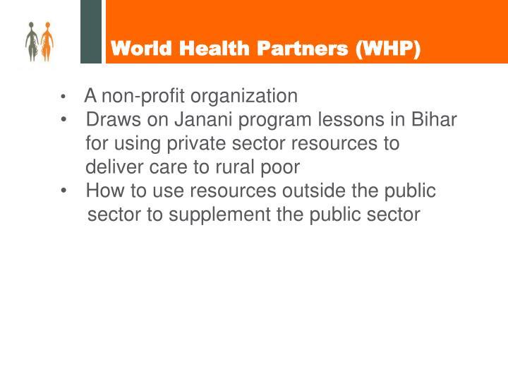 World health partners whp