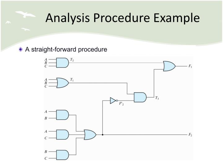 Analysis Procedure Example