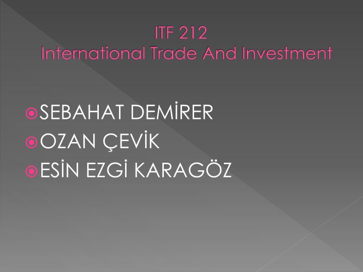 ITF 212