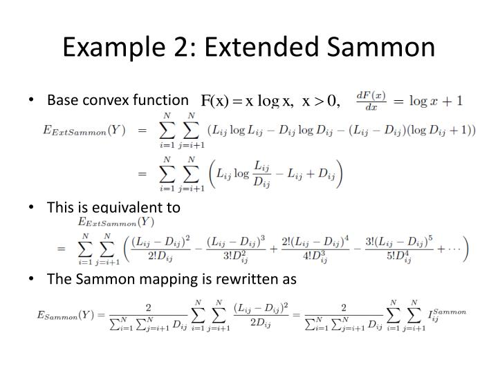 Example 2: Extended