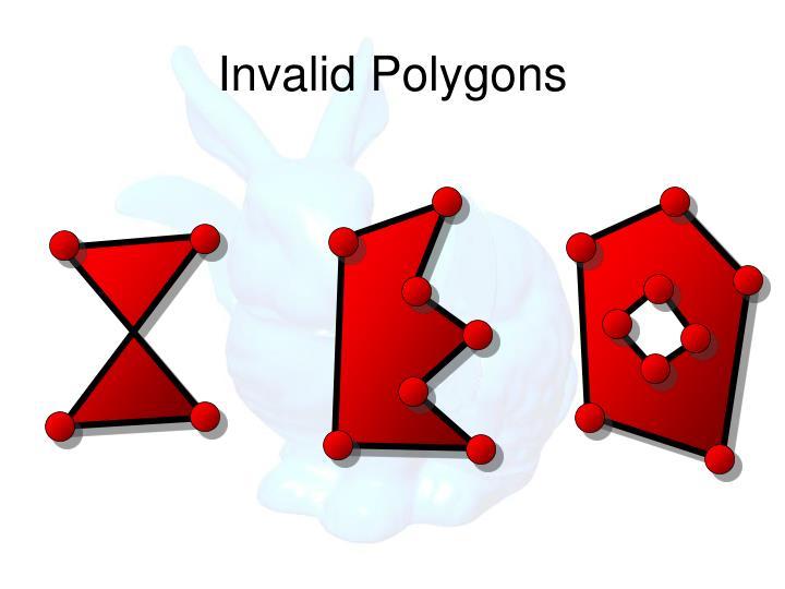 Invalid Polygons