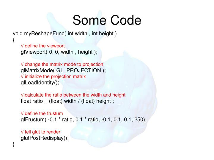 Some Code