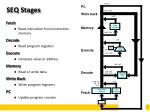 seq stages