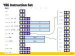 y86 instruction set