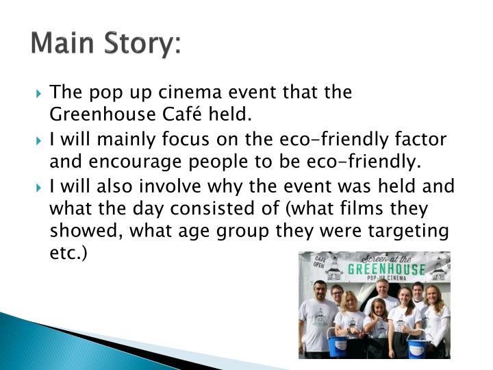 Main story