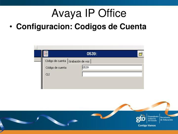 Avaya IP Office