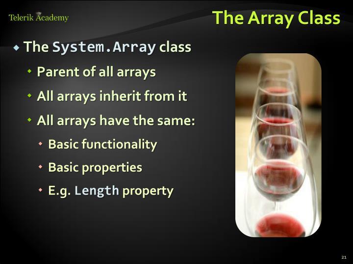 The Array Class