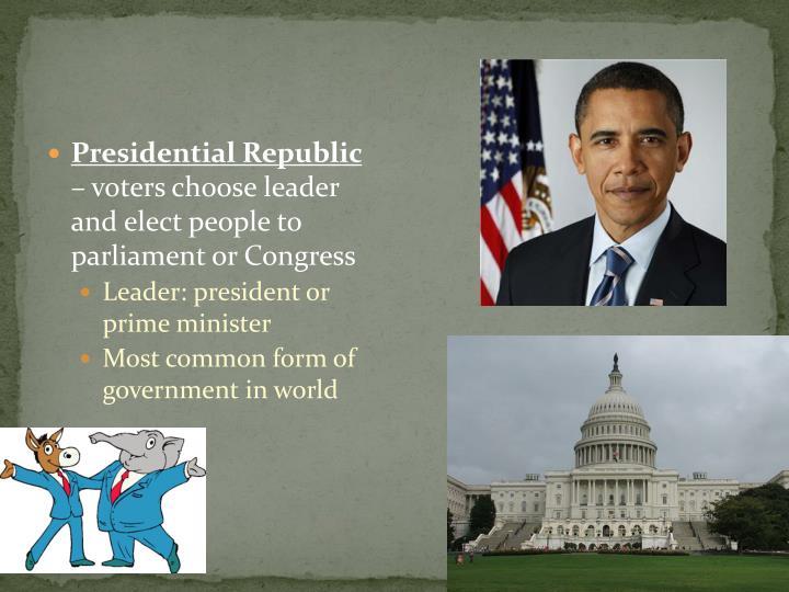 Presidential Republic