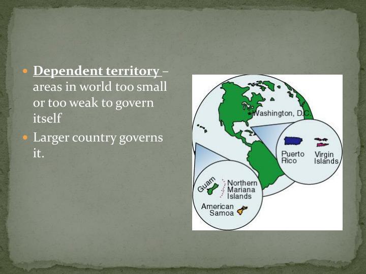 Dependent territory