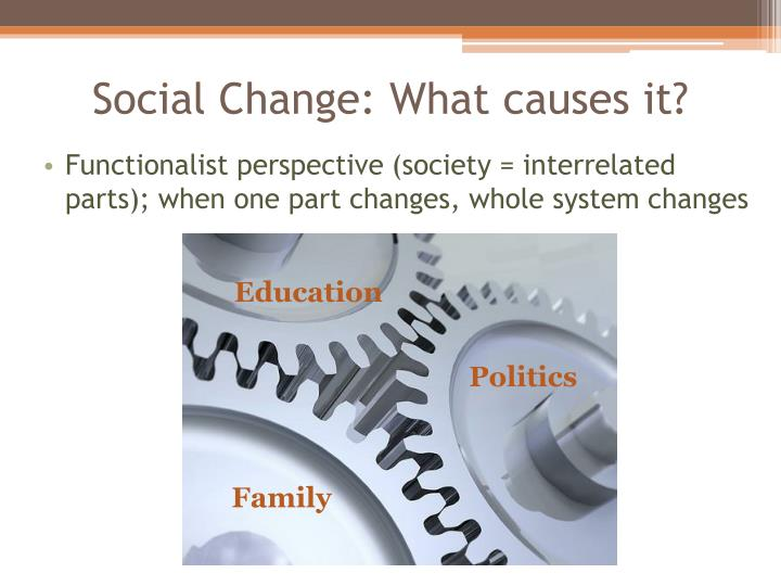 Social Change: What causes it?