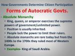 how governments determine citizen participation3