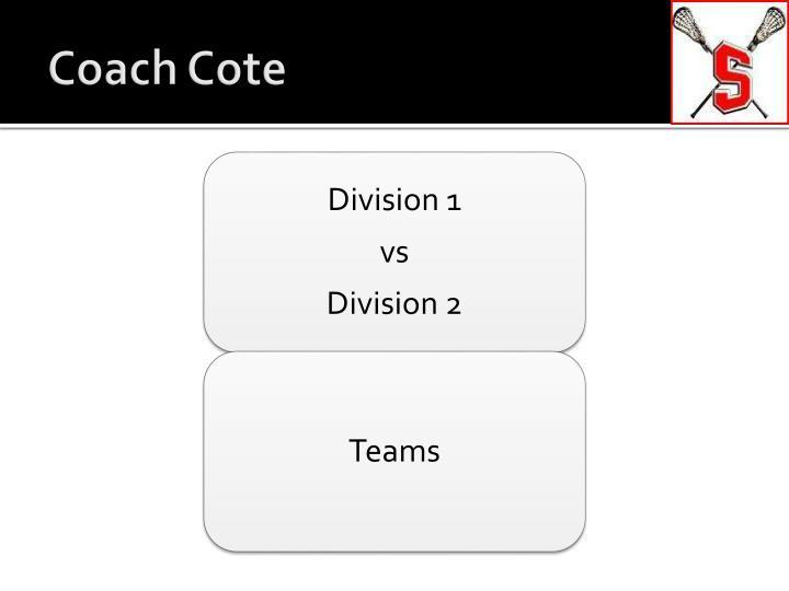 Coach Cote