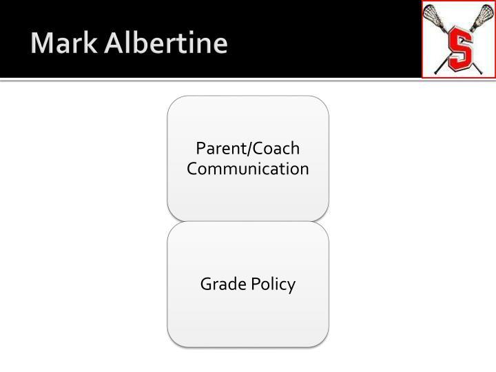 Mark albertine