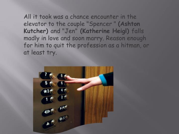 """All it took was a chance encounter in the elevator to the couple """"Spencer """""""