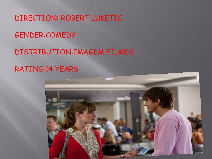 DIRECTION: ROBERT LUKETIC