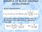 example of block diagram development6