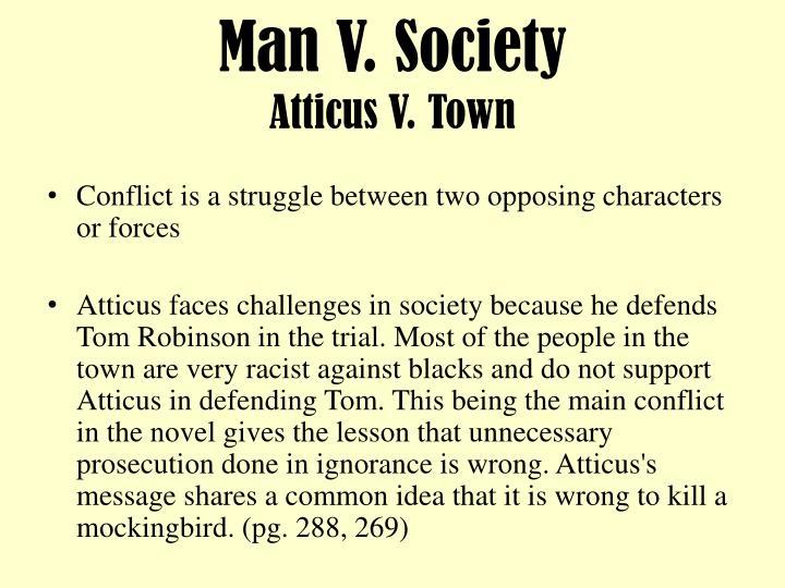 Man V. Society