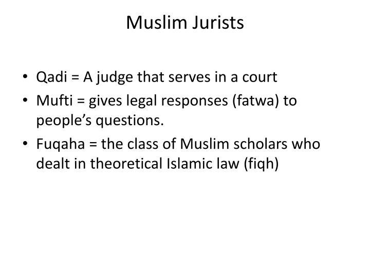 Muslim Jurists